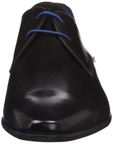 Marron AZZARO Chaussures Ebène Homme Lacées Jurical O0vqpZ