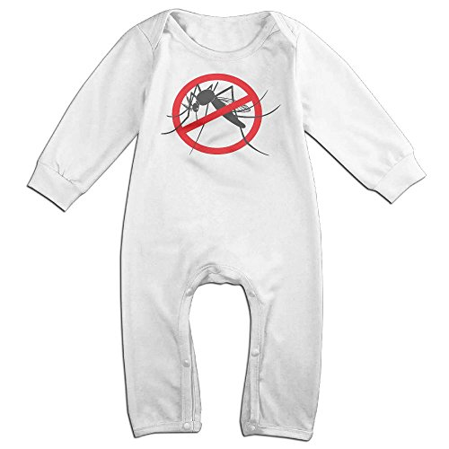 Hatted Cat Plug The Thin Tube In, Mosquito Cute Unisex Long Sleeve Baby Bodysuit One-Piece Garment For Children