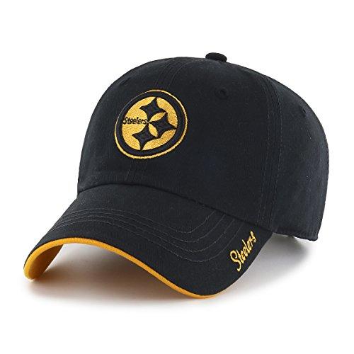 Pittsburgh Steelers Womens Accessories (NFL Pittsburgh Steelers Women's Accolade OTS Challenger Adjustable Hat, Black, Women's)