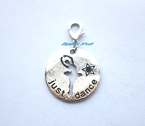 Just Dance Gifts, Dance Recital Gift, Ballerina Gift, Dance Zipper Pull, Gift for Dancer, Dancer Gift, Dance Zipper Charm