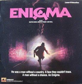 Enigma LASERDISC (NOT A DVD!!!) (Full Screen Format) Format: Laser Disc