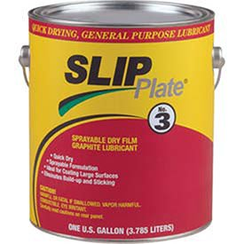 Precision Brand - Slip Plate No. 3 Dry Film Lubricants Slip Plate #3 5 Gal Pailsuperior Graphite 33208: 605-45537 - slip plate #3 5 gal pailsuperior graphite 33208 by Precision Brand