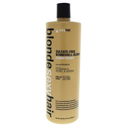 Blonde Conditioner - Sexy Hair Bombshell Blonde Conditioner, 33.8 Fluid Ounce