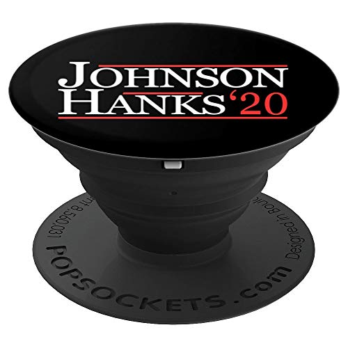 Johnson Hanks for President 2020 - PopSockets Grip and Stand for Phones and Tablets