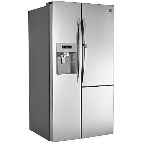 kenmore 51833. kenmore 51833 26.1 cu. ft. side-by-side refrigerator w/ grab-n-go door 3