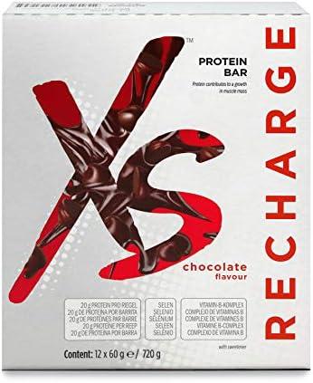 Protein Riegel mit Schokoladengeschmack XS™ - 12 Riegel x 60 g / 720 g - Amway - (Art.-Nr.: 121608)