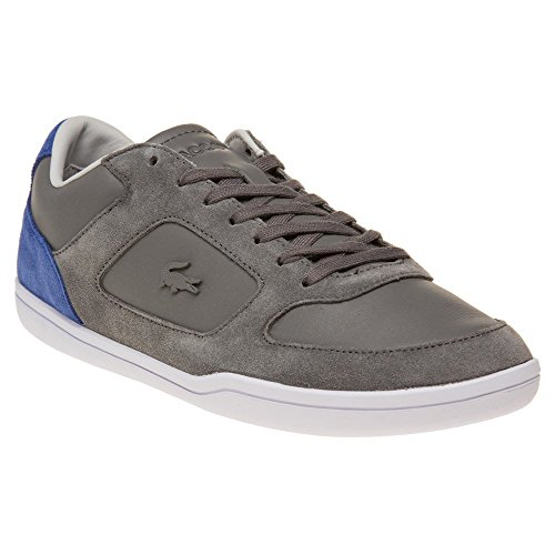 Grey Court Grey Blue Dark Minimal Trainers Lacoste dSqxpXFF