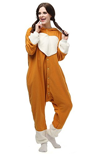 Sayadress Lovely Animal Cosplay Costumes Pajamas for Unisex Adults Corgi Dog -