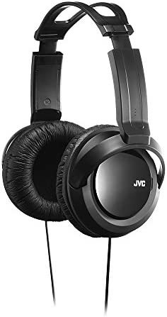 JVC Full Sized Over Ear Headband Over Ear Full Size Headband Black HARX330