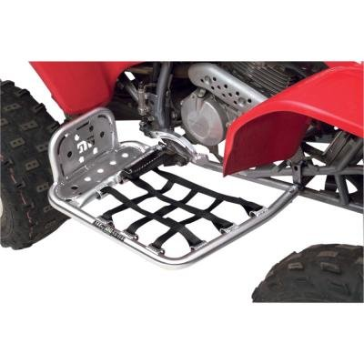 DG Performance 607-4140 - Alloy Nerf Bars WITHOUT Heel Guard - Aluminum fits Yamaha Banshee 350 (1988 - 2006)