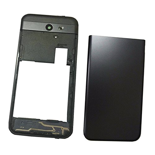 Middle Frame Housing - Back Cover Battery Door Housing + middle frame bezel For Galaxy J3 2017 Prime SM-J327 J327R4 J327T1 J3 Amp Prime 2 SM-J327AZ J3 Emerge J327A J327P J3 V 2017 J327V J327VPP black