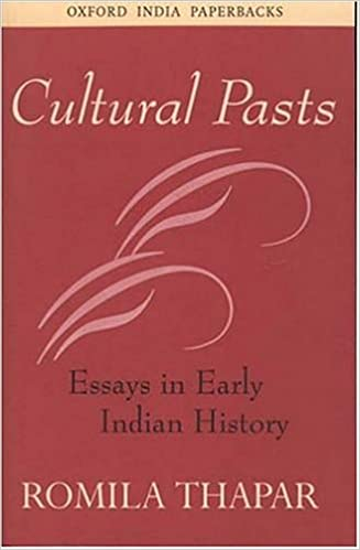 cultural pasts essays in early n history romila thapar  cultural pasts essays in early n history romila thapar 9780195664874 com books