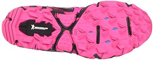 Mizuno Wave Hayate (W), Zapatillas de Running para Mujer Multicolor (Dark Shadow/pink Glow/black)