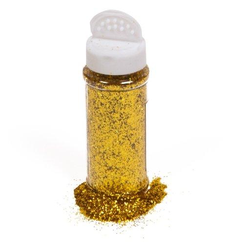 Creation Station 100gm Glitter Shaker Jar (Gold) ()