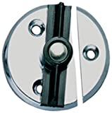 Perko 1216DP0CHR Chrome Marine Door Button with Spring