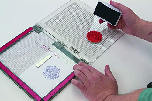 Misti Stamp Tool Original Size Stamp Positioner (2020 Version); Includes Bar Magnet and Foam Pad; The Most Incredible Stamp Tool Invented