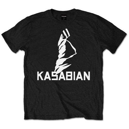 Large Black Men's Kasabian Ultra Face T-shirt -