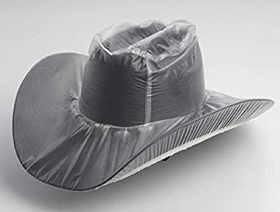 M&F Western 1090 Adult's Hat Cover Tall Crown Clear Large