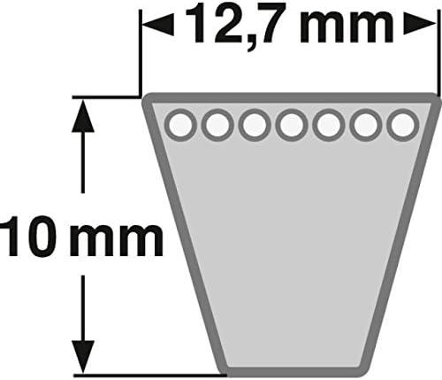 /AV 13/x 1050/la din7753/V de Belt Correa trapezoidal para spa 1032/LW/