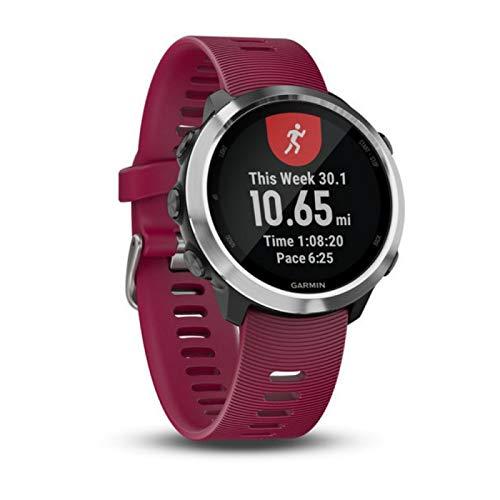 Relógio Esportivo Garmin Forerunner 645 Music Cereja 010-01863-21 com GPS e Monitor...
