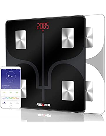 the latest 5573b c23ef REDOVER-Bluetooth Body Fat Scale with Free IOS and Android App, Smart  Wireless Digital