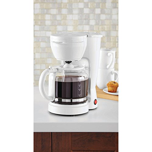 Mainstays 5-Cup Coffee Maker, Black
