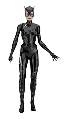 [NECA Children's Batman Returns 1/4 Scale Catwoman (Michelle Pfeiffer) Action Figure] (Homemade Catwoman Costume For Children)