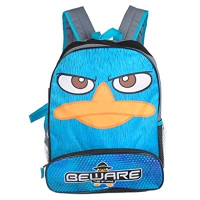 """16"""" Phineas and Ferb Agent P Gray Backpack"""