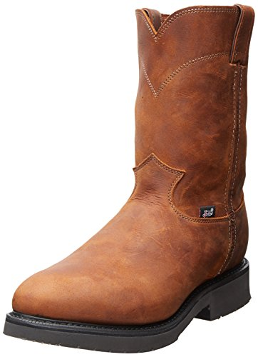 Justin Original Workboots Style 4764 Mens Work Boot Aged Bark