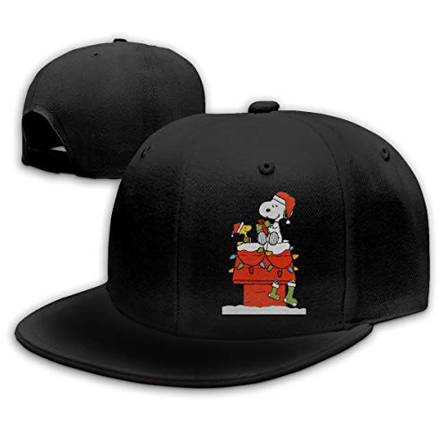 GERGWRB GODWARDWELL Snoopy and Charlie Brown Christmas Hat Baseball Bucket Trucker Cap for Men and Women