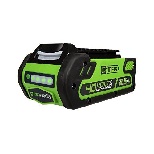 Expert choice for greenworks 40v battery 2.5ah