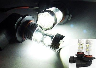 LEDIN HB4 CREE XB-D Projector LED HL Low Beam Headlight Bulb High Power 9006 50W (99 Mitsubishi Eclipse Projector Headlights)