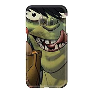 Shock-Absorbing Hard Cell-phone Cases For Samsung Galaxy S6 (nnB5037dsvX) Allow Personal Design Fashion Gorillaz Band Skin