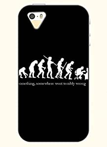 OOFIT Phone Case design with Something, Smething Went Terribly Wrong for Apple iPhone 4 4s 4g