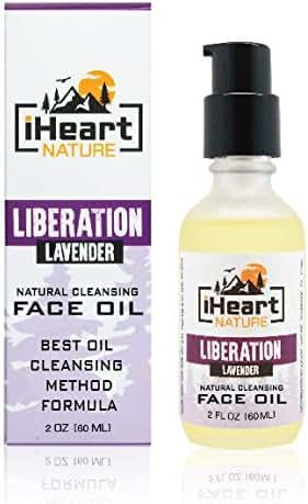 Natural Cleansing Face Oil Anti-Aging Skin Care (Oil Cleansing Method and Makeup Remover) Facial Organic Botanical Elixir (Nourishing Smoothing Moisturizing)