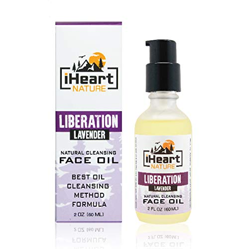 Natural Cleansing Face Oil Anti-Aging Skin Care (Oil Cleansing Method and Makeup Remover) Facial Organic Botanical Elixir (Nourishing Smoothing Moisturizing)