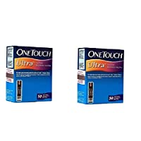 Johnson and Johnson One Touch Ultra 100 Test Strips Exp: MARCH 2022