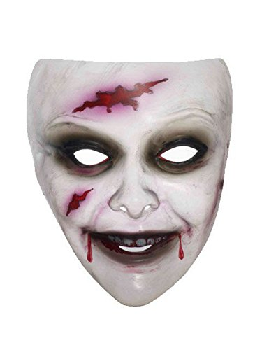 Transparent Zombie Mask for Women -