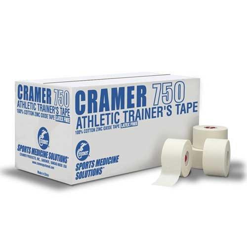 Cramer 1.5'' White Athletic Tape Case, White