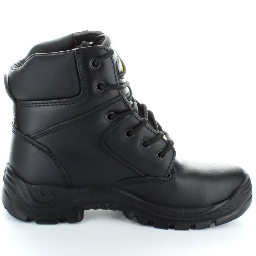 Black Steel Boot Amblers Eyelet Fs84 Cap 6 Safety Toe qBd7H