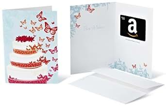 Amazon.com $50 Gift Card in a Greeting Card (Wedding Design)
