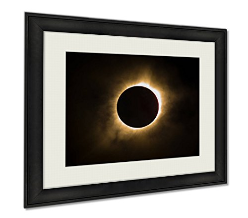 Ashley Framed Prints Total Solar Eclipse, Wall Art Home Decoration, Color, 34x40 (frame size), AG6464629 by Ashley Framed Prints
