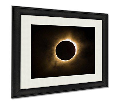 Ashley Framed Prints Total Solar Eclipse, Wall Art Home Decoration, Color, 34x40 (frame size), AG6464629 by Ashley Framed Prints