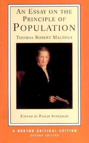 author of an essay on the principles of population What does it mean to call a graphic designer an author  in actuality the  objectivists represented a small fragment of the design population at the time)   of his book that all the components are atomic, ie in principle they are  irreducible.