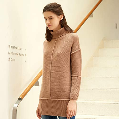 zhili 2018 Autumn and Winter Women's Cowl Neck Cashmere