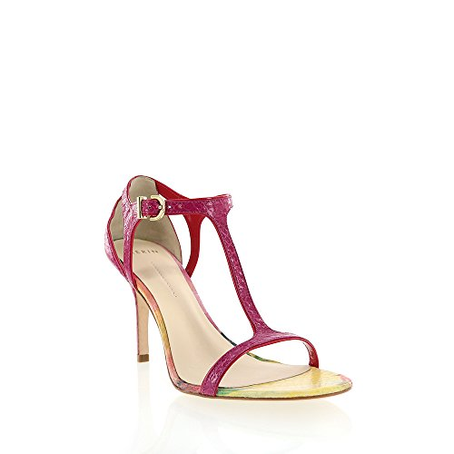 Aerin Berry Blommig Orm Print T-rem Sandal Berry Blommig