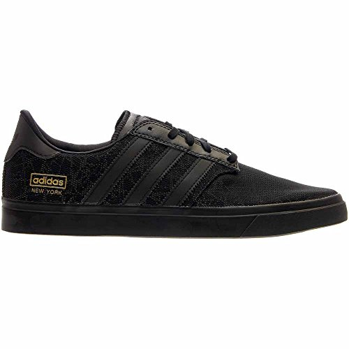 Adidas Skateboarding Mens Seeley Serie Premiere Città - New York Black / Black Metallic Gold /