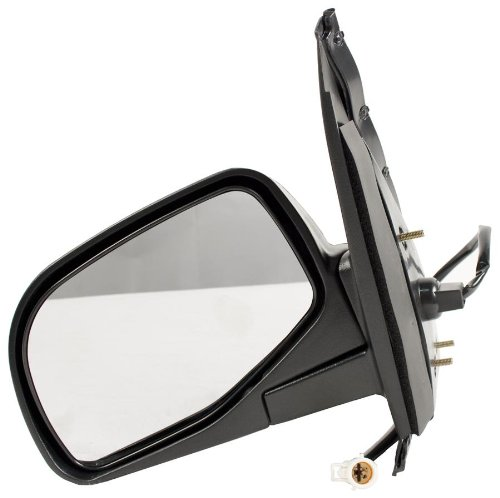 OE Replacement Ford Explorer/Mercury Mountaineer Driver Side Mirror Outside Rear View (Partslink Number FO1320113)