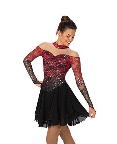 Jerry Skating World Jerry's Figure Skating Dress 132 - Torch & Tango (Size 12-14)