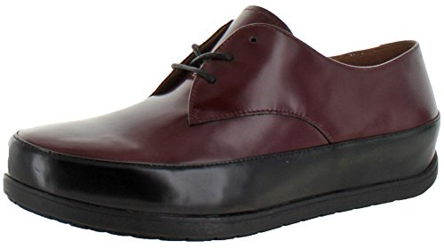 Womens Lace FitFlop Oxford up Hot Cherry Derby Beau Leather gHwST